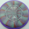 Insanity - swirly - purple - plasma - silver - blue - 1194 - 157g - 157-6g - somewhat-flat - neutral