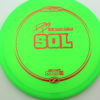 Paige Pierce Sol - Z Line - green - red - 173-175g - 173-5g - somewhat-domey - neutral