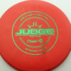 Judge - Burst - classic - green - 304 - 173g - 173-3g - pretty-flat - pretty-stiff