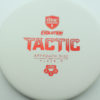 Discmania Tactic - white - exo-hard - red - 173g - 173-6g - somewhat-puddle-top - pretty-stiff