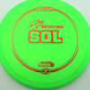 Paige Pierce Sol - Z Line - green - red - 173-175g - 173-6g - somewhat-domey - somewhat-stiff