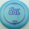Paige Pierce Sol - Z Line - light-blue - purple - 173-175g - 174-1g - somewhat-domey - somewhat-stiff