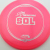 Paige Pierce Sol - Z Line - pink - silver-dots-small - 170-172g - 171-8g - somewhat-domey - somewhat-stiff
