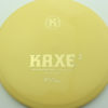 Kaxe Z - yellow - k1 - gold - 164g - 164-1g - somewhat-domey - neutral