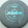 Judge - Burst - classic-blend - teal - 304 - 173g - 173-9g - super-flat - somewhat-gummy