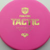 Discmania Tactic - pink - exo-hard - gold - 173g - 173-8g - puddle-top - pretty-stiff