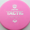 Discmania Tactic - pink - exo-soft - silver - 173g - 173-5g - super-flat - somewhat-gummy