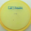 Roc3 - yelloworange - champion - blue - 304 - 180g - 179-6g - somewhat-flat - neutral
