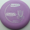 Aviar - Putt and Approach - purple - dx - silver - 304 - 175g - 174-8g - super-flat - somewhat-stiff