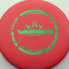 Warden - red - prime - green - 176g - 175-5g - pretty-flat - somewhat-stiff