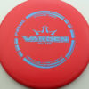 Warden - red - prime - blue - 176g - 174-9g - pretty-flat - somewhat-stiff