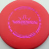 Warden - red - prime - fuchsia-fracture - 176g - 175-0g - pretty-flat - somewhat-stiff