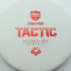 Discmania Tactic - white - exo-soft - red - 173g - 173-0 - super-flat - somewhat-gummy