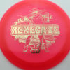 Lucid Renegade - LE Stamp - pink - lucid - gold - 176g - 176-4g - somewhat-domey - neutral