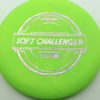 Soft Challenger - green - putter-line-soft - silver-w-pink-purple-streaks - 173-175g - 173-1g - somewhat-puddle-top - somewhat-gummy