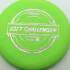 Soft Challenger - green - putter-line-soft - silver-w-pink-purple-streaks - 173-175g - 173-2g - somewhat-puddle-top - somewhat-gummy