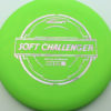Soft Challenger - green - putter-line-soft - silver-w-pink-purple-streaks - 173-175g - 173-7g - somewhat-puddle-top - somewhat-gummy