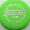 Soft Challenger - green - putter-line-soft - silver-w-pink-purple-streaks - 173-175g - 173-8g - puddle-top - somewhat-gummy