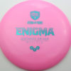 Enigma - pink - teal - 168g - 169-6g - somewhat-domey - neutral