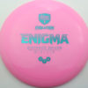 Enigma - pink - teal - 169g - 171-5g - somewhat-domey - neutral