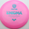 Enigma - pink - teal - 168g - 169-1g - somewhat-domey - neutral
