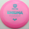 Enigma - pink - teal - 169g - 169-5g - somewhat-domey - neutral