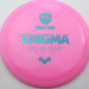 Enigma - pink - teal - 168g - 169-4g - somewhat-domey - neutral