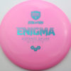 Enigma - pink - teal - 169g - 170-0g - somewhat-domey - neutral