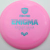 Enigma - pink - teal - 169g - 169-4g - somewhat-domey - neutral