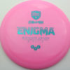 Enigma - pink - teal - 169g - 169-7g - somewhat-domey - neutral