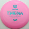 Enigma - pink - teal - 168g - 169-3g - somewhat-domey - neutral