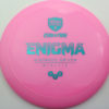 Enigma - pink - teal - 169g - 170-2g - somewhat-domey - neutral