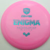 Enigma - pink - teal - 169g - 169-6g - somewhat-domey - neutral