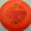 Lucid Renegade - LE Stamp - orange - lucid - red - 171g - 172-5g - somewhat-domey - neutral