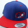Connor O'Reilly Hats - blue-red - red-white - snapback