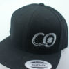 Connor O'Reilly Hats - black - silver - snapback
