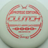 Clutch - white - protege - red-fracture - 304 - 173g - 171-7g - pretty-flat - somewhat-stiff