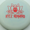 Kyle Normand Warlock - blend-blue-white - glo-sss - red-fracture - 174g - 173-8g - super-flat - somewhat-gummy