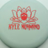 Kyle Normand Warlock - blend-blue-white - glo-sss - red-fracture - 173g - 172-8g - super-flat - somewhat-gummy