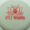 Kyle Normand Warlock - glow - glo-sss - red-fracture - 173g - 173-8g - super-flat - somewhat-gummy