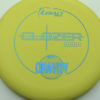 Clozer - yellow - gravity - blue - 304 - 173g - 173-2g - somewhat-puddle-top - somewhat-gummy