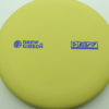 Drew Gibson Penrose - yellow - og-soft - blue-fracture - 174g - 173-7g - pretty-flat - somewhat-gummy