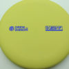 Drew Gibson Penrose - yellow - og-soft - blue-fracture - 174g - 173-0 - pretty-flat - somewhat-gummy