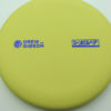 Drew Gibson Penrose - yellow - og-soft - blue-fracture - 174g - 173-9g - pretty-flat - somewhat-gummy