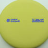 Drew Gibson Penrose - yellow - og-soft - blue-fracture - 174g - 172-9g - pretty-flat - somewhat-gummy
