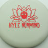 Kyle Normand Warlock - glow - glo-sss - red-fracture - 174g - 173-2g - super-flat - somewhat-gummy