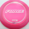Force - pinkpurple - z-line - silver-flowers - 304 - 170-172g - 173-0g - somewhat-domey - somewhat-stiff