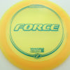 Force - yellow - z-line - teal - 304 - 173-175g - 174-5g - neutral - somewhat-stiff