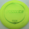 Force - yellow - z-line - green-micro-dots-and-stars - 304 - 173-175g - 174-9g - somewhat-domey - somewhat-stiff