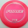 Force - pink - z-line - silver-flowers - 304 - 170-172g - 173-5g - somewhat-domey - somewhat-stiff